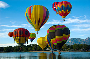 Colorado Springs Hot Air Balloons - Wikipedia