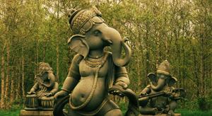 Band of Ganesha's, Victoria's Way. Photo: Rob Hurson