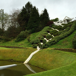 The Garden of Cosmic Speculation. Photo: Gary Denham
