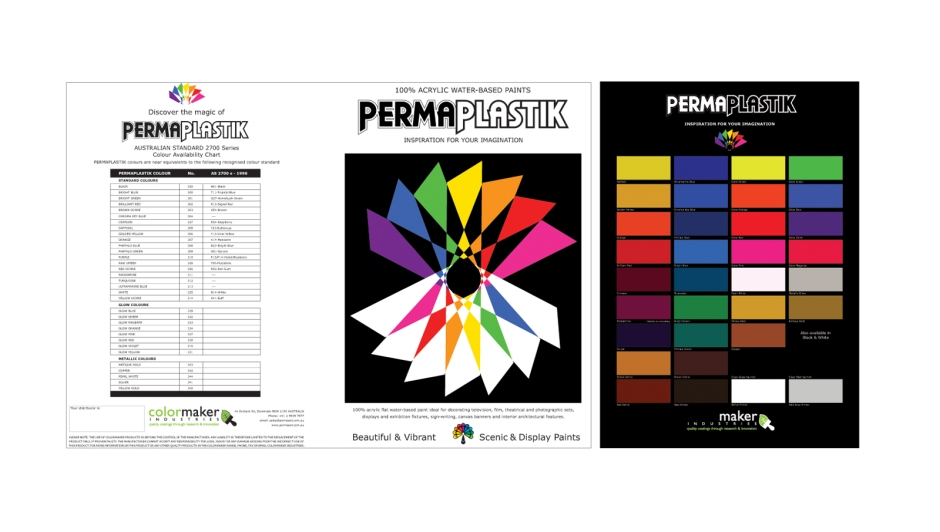PermaPlastik Colour Card